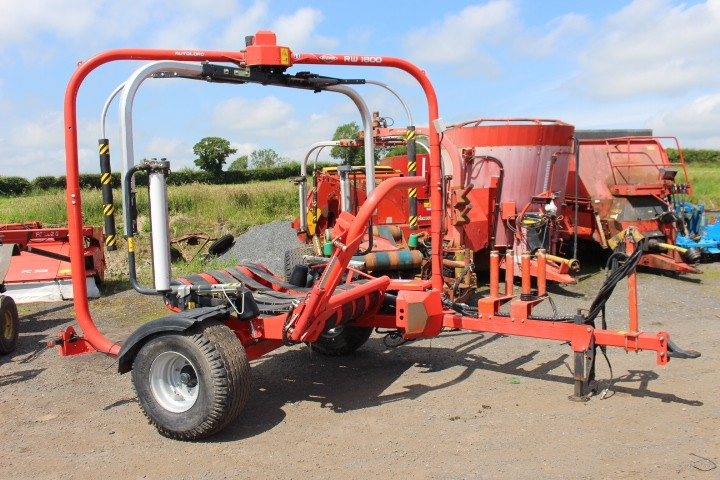 Kuhn RW1800 Twin Wrapper
