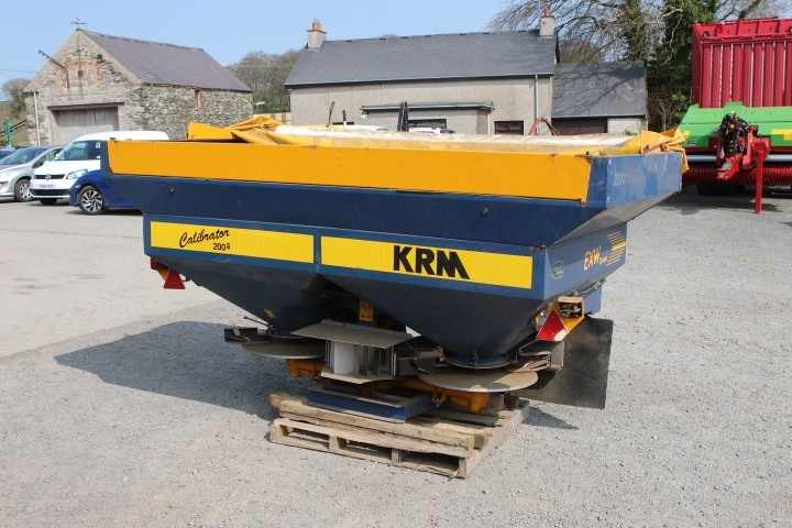 KRM Fertiliser Sower