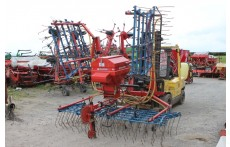 OPICO 6m Grass Harrow & Seeder