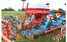Kverneland 3m Drill & Rabe 3m Power Harrow
